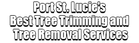 Port St. Lucie's Best Tree Trimming and Tree Removal Services Logo-We Offer Tree Trimming Services, Tree Removal, Tree Pruning, Tree Cutting, Residential and Commercial Tree Trimming Services, Storm Damage, Emergency Tree Removal, Land Clearing, Tree Companies, Tree Care Service, Stump Grinding, and we're the Best Tree Trimming Company Near You Guaranteed!